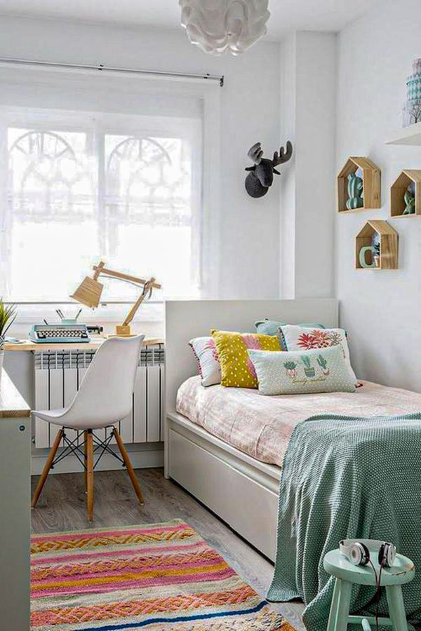 51 Cute And Best Small Bedroom Design Ideas For Home Page 14 Of 51 Ladiesways Com Women Hairstyles Blog Small Bedroom Decor Small Room Bedroom Small Bedroom Designs