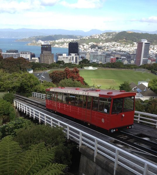 Cable Car in Wellington NZ