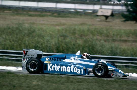Corrado Fabi - Osella FA1D - Brazil 1983