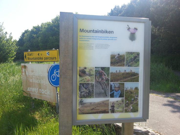Mountainbike parcours Buytenpark.