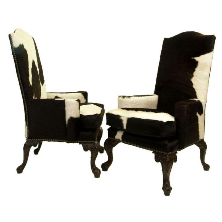 Cowhide Barstools Vintage Black White Hairhide Leather Bar: 63 Best Cowhide & Leather Images On Pinterest
