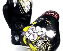 TWINS SPECIAL BOXING GLOVES KILLER BEE BLACK