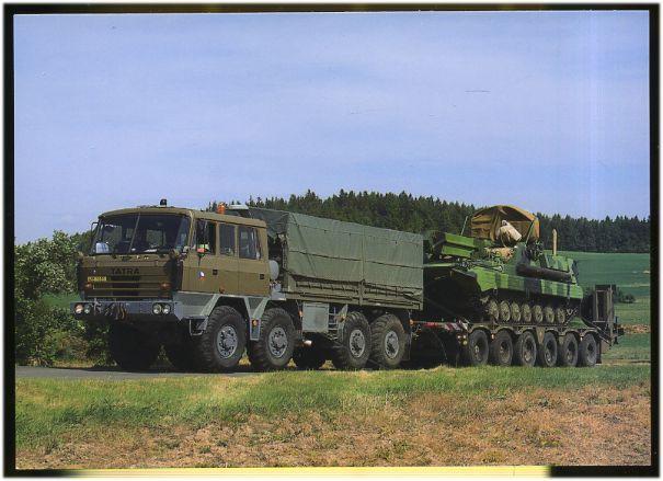 Tatra tank transporter