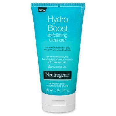 Neutrogena 5 Oz. Hydro Boost Exfoliating Cleanser …