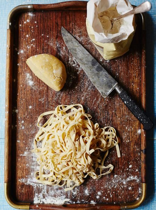 Gluten Free Pasta | Pasta Recipes | Jamie Oliver - Perfect results every time - Once you've mastered this simple dough recipe, use it in all your favourite pasta recipes.