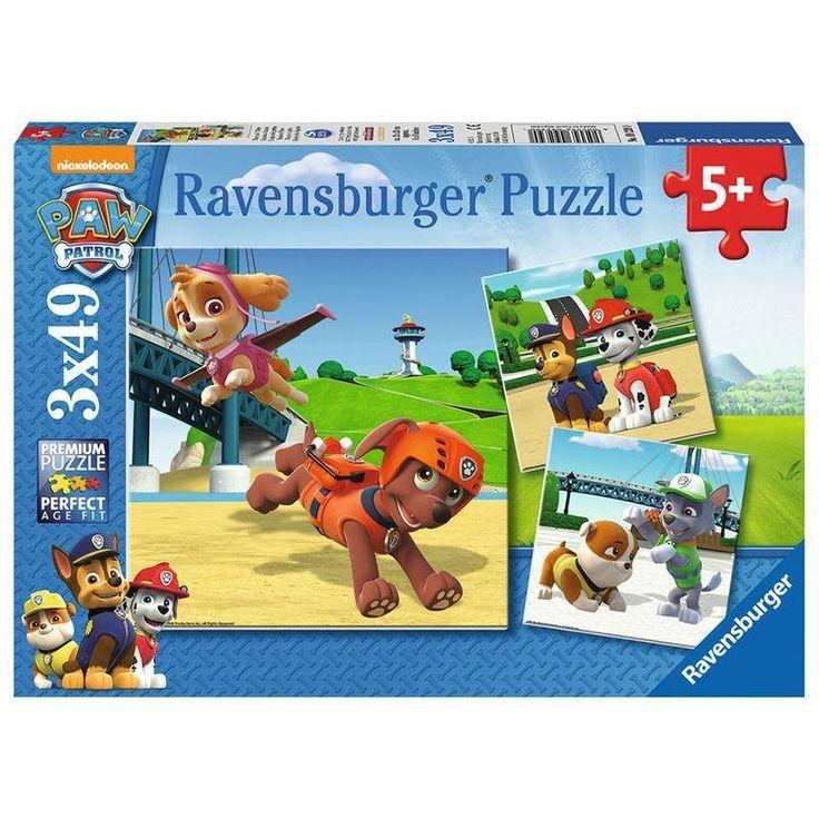 Puzzle 3x49 de Patrulla Canina - Paw Patrol
