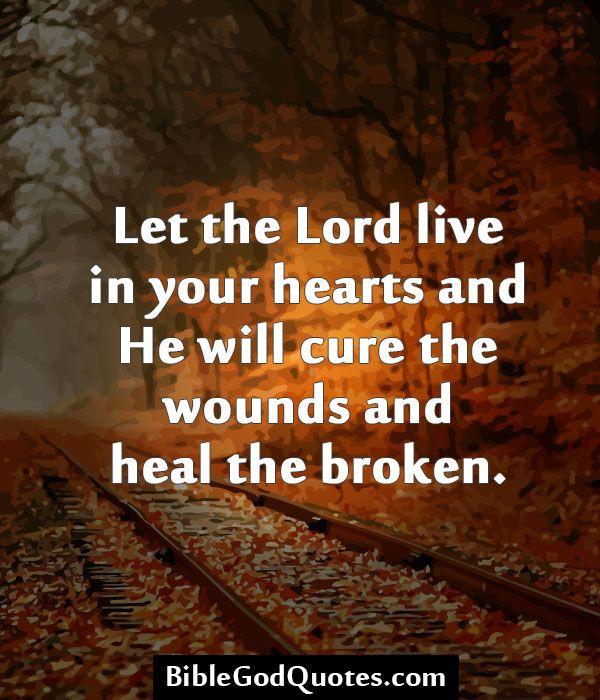 God Can Heal Quotes: God Heals Broken Hearts Quotes. QuotesGram