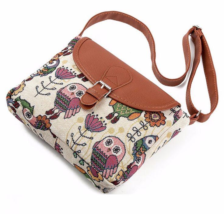 Owl Messenger Bag //Price: $13.90 & FREE Shipping //     #hashtag2