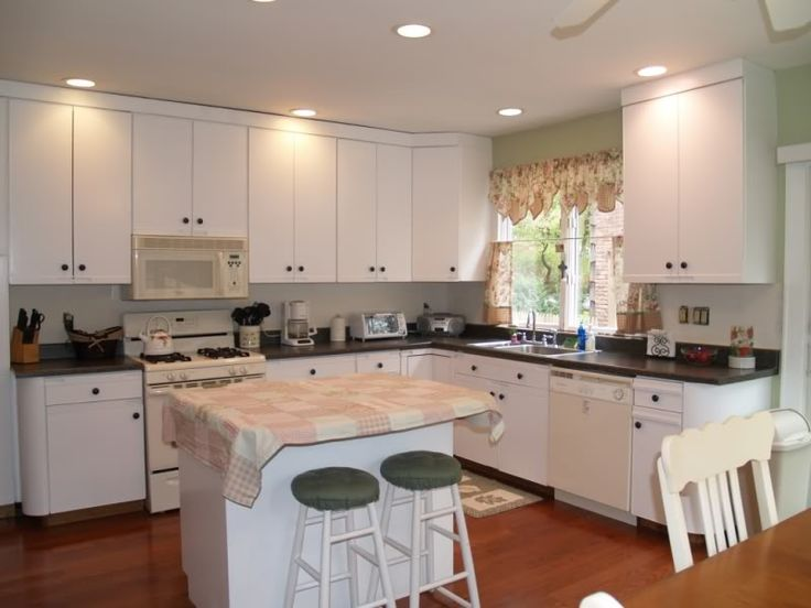 Paint Quot Euro Style Quot Laminate Cabinets And Add Hardware