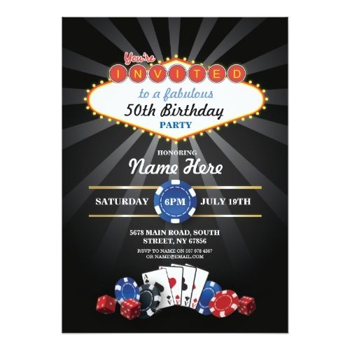 125 best 50th birthday party invitation images on pinterest   50th, Wedding invitations