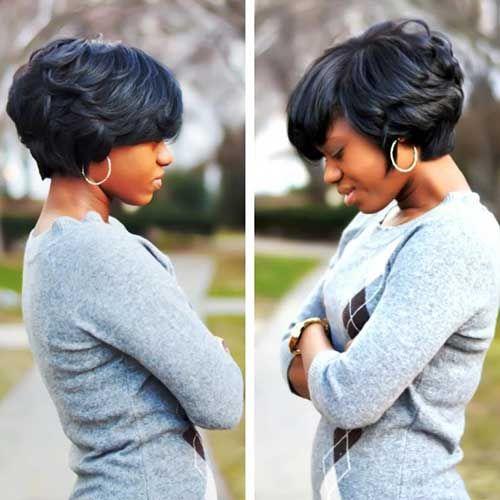 Cute Black Short Hairstyles