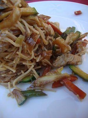 Ogni riccio un pasticcio - Blog di cucina: Spaghetti di soia come al ristorante cinese!