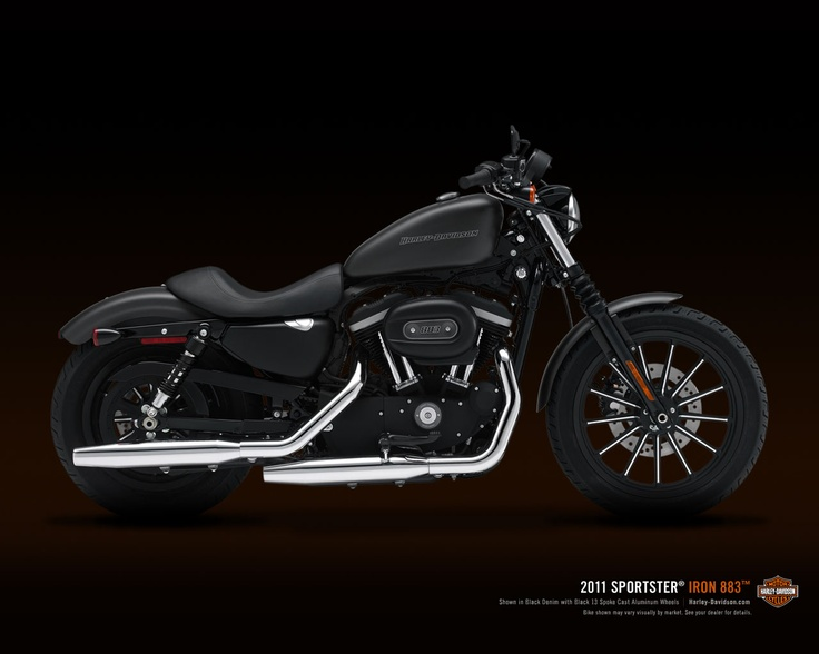 sportster 883 - i'm not really into harleys; but this one always catches my eye.