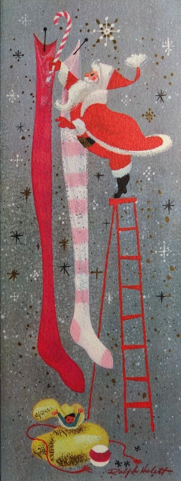 Ralph Hulett Vintage Christmas Cards
