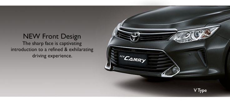 Toyota All New Camry - Front Bumper Exterior - Only at AUTO2000