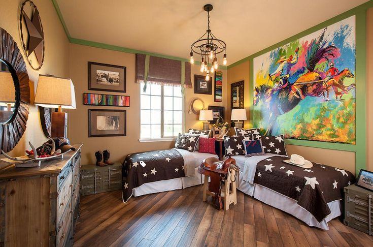 Cowboy kids room
