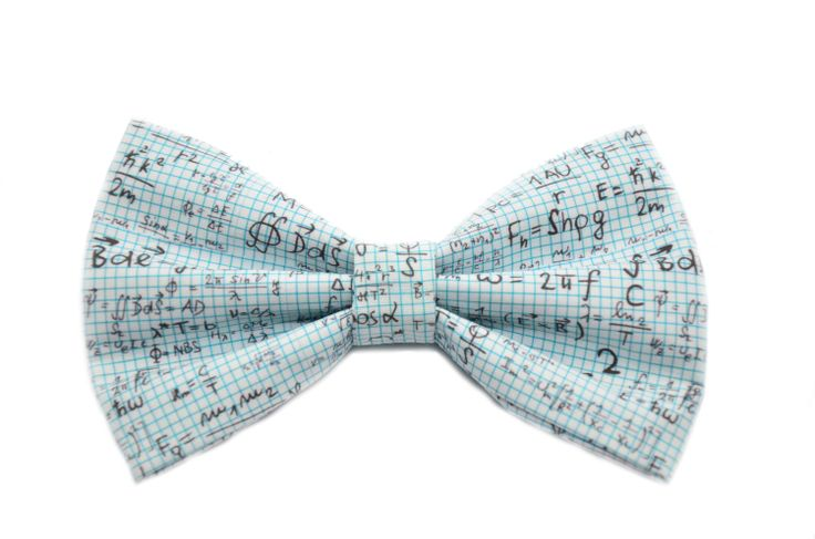 Math Equation Bow Tie. Sometimes I wish it was socially acceptable for women to wear bow ties!!