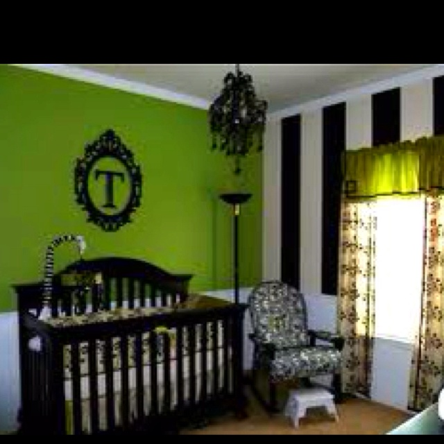 1000 images about bedrooms on pinterest small bedrooms Green and black bedroom