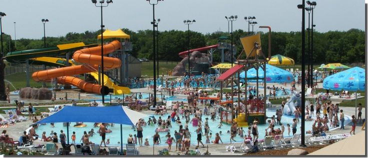 The falls aquatic center a waterpark within walking distance from campus cedar valley for Waterloo rec centre swimming pool