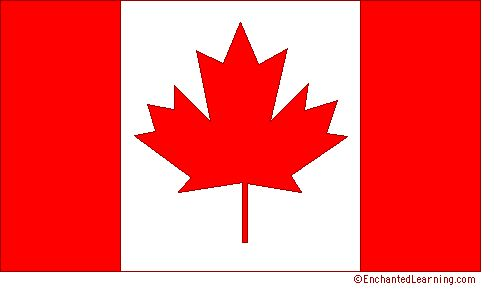 printable pictures of canadian flag  | canadian flag is red and white these are the official colors of canada ...