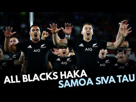 ALL BLACKS HAKA VS SAMOAN SIVA TAU 2017 ᴴᴰ