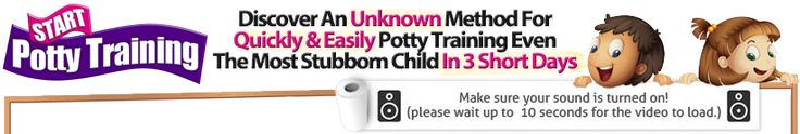 is your potty-trained child suddenly having accidents cause you don't know when to start potty training ? Find out why potty regression is happening -- and how to avoid it and how long does potty training take --- Weird Potty Training Video Reveals Secret To 3 Day potty training regression