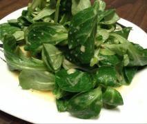 Feldsalat mit Honig Senf Dressing