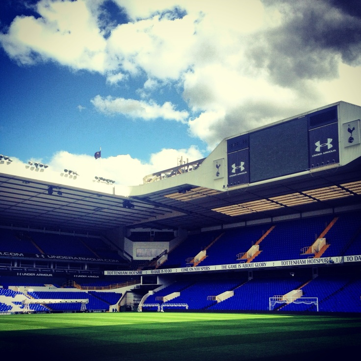 White Hart Lane Tottenham Hotspur!!! I still can't believe I have been here!!!