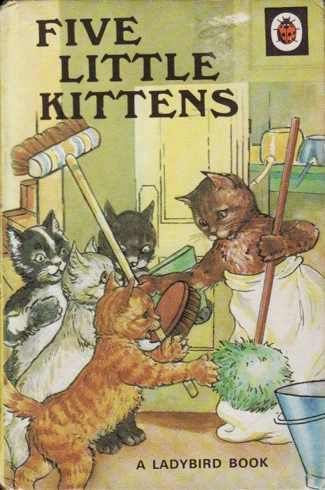 LADYBIRD BOOKS | Five Little Kittens - Vintage Ladybird Book |