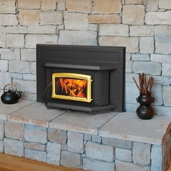 The Pacific Energy Super Insert | Efficient Fireplace Inserts is crafted to fit tighter fireplaces.  The Super insert provides a large view of the fire.