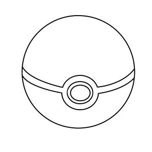 Pokemon Pokeball Coloring Pages