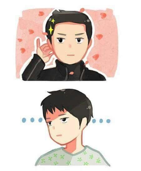 Ep. 14 segeant Seo's little pinky sooo adorable. Lol