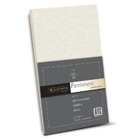 Southworth Parchment Paper, 11 x 17 inches, 24 lb, Ivory, 100 per Pack (P984H)