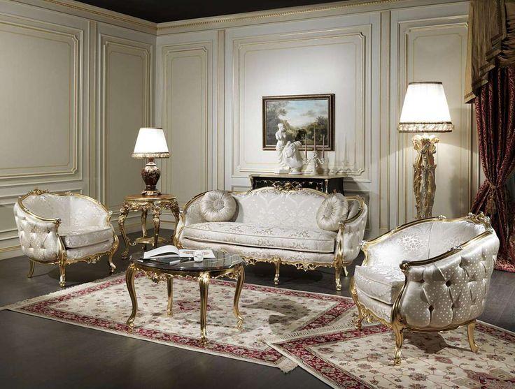 Luxury Classic Venezia Living Room Set