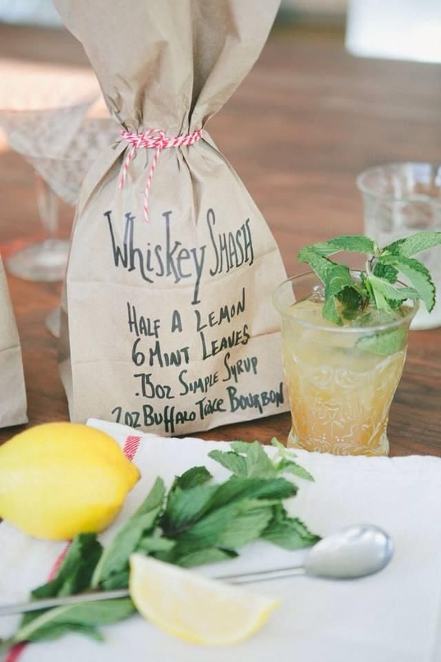 We love making this cocktail in the summertime, although it tastes pretty good in winter too ;) WhiskeySmash #Cocktail #Bourbon #BuffaloTrace