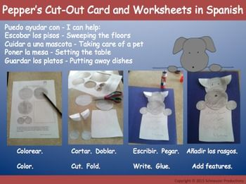 Enjoy Pepper's template (and simple directions) to make a cut-out of her (in any…