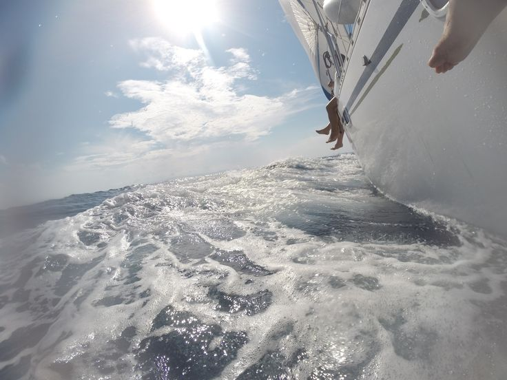 an afternoon sailing experience with good winds in our sails