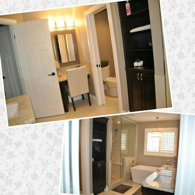 Luxury Custom Ensuite... Makeup Counter, Ensuite, Master Bathroom, Steam  Shower