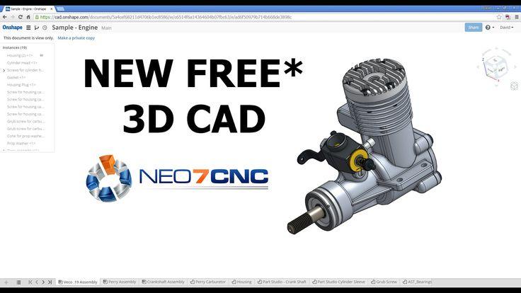 Homemade DIY CNC - NEW Free* 3D CAD Design Software - Neo7CNC.com
