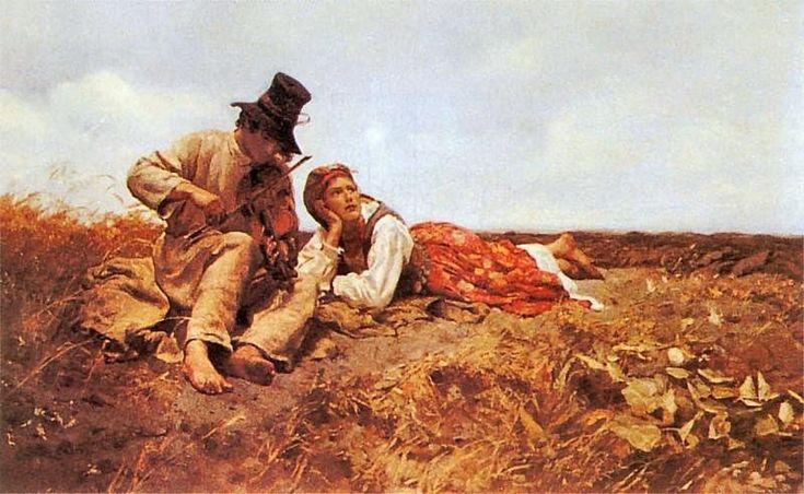 Sielanka (Idyll) by Jozef Chelmonski