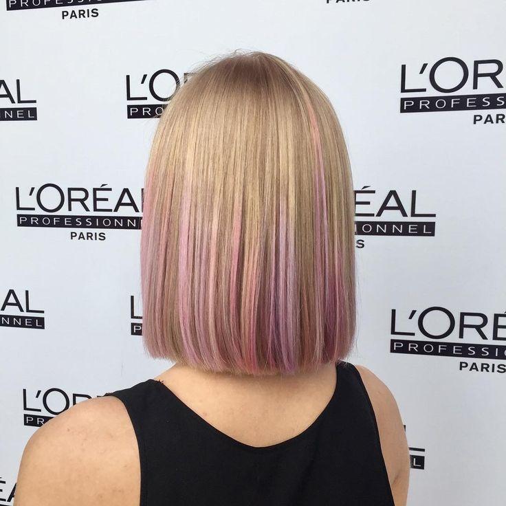 32 отметок «Нравится», 1 комментариев — Escapebackstage (@escapebackstage) в Instagram: «Weekend seminar #loreal #inoa #colorfulhair #coralsunset #pinksorbet #electricviolet @lorealpro…»