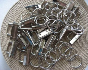 key fob hardware on Etsy, a global handmade and vintage marketplace.