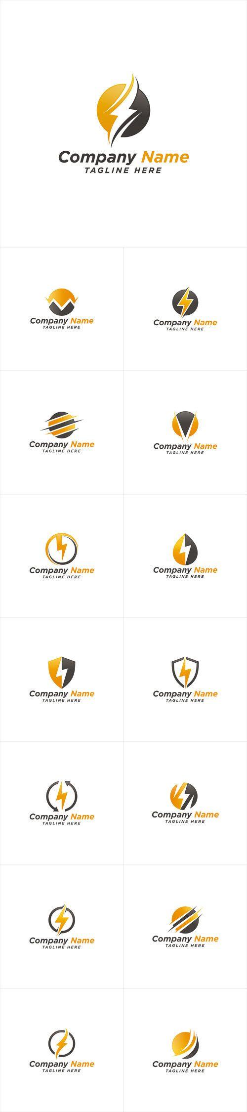 Vectors - Electric Energy Power Logo Design