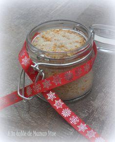 Sucre de Noël, cannelle et orange