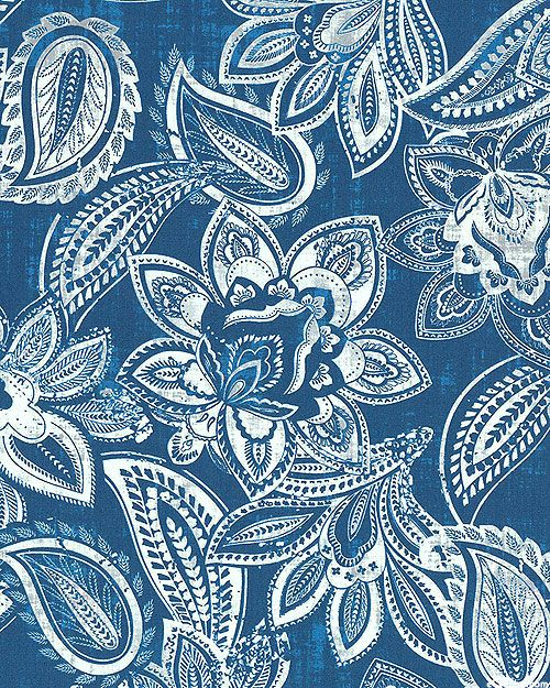 Paisley Floral Impressions