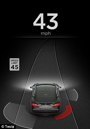 The Automatic Emergency Steering and Side Collision Warning alerts drivers to objects