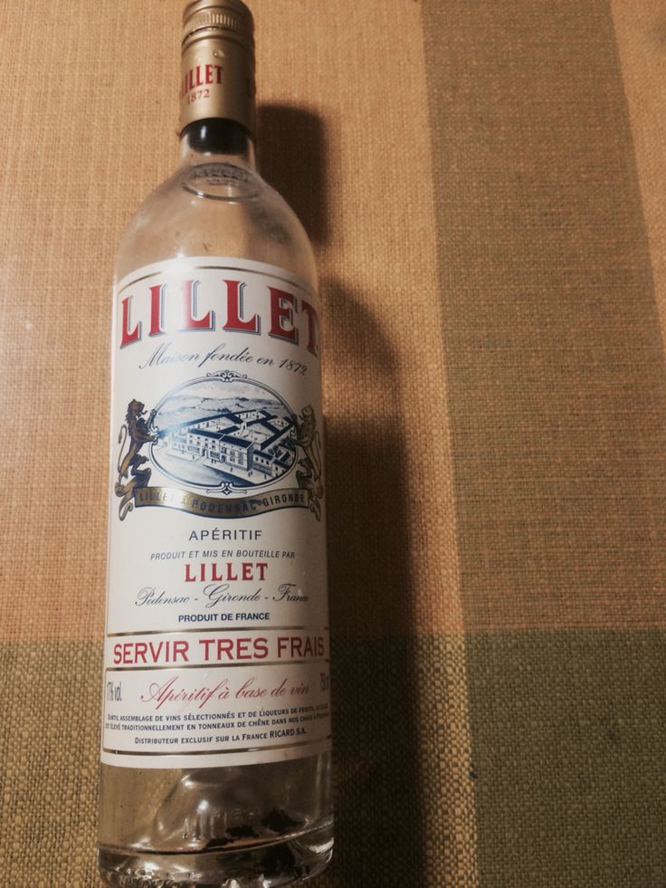 LILLET (Vermut、Vermouth)