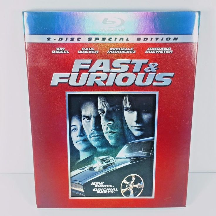 For Sale - Fast & Furious Blu-ray DVD with Slip Vin Diesel Paul Walker Michelle Rodriguez #FASTFURIOUS #EBAY #MOVIES #BLURAY