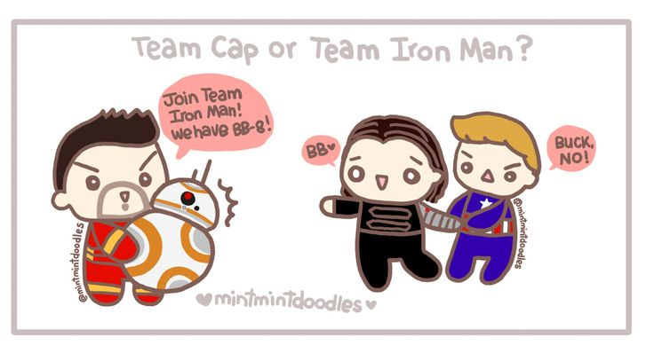 I'm Team Cap but BB-8!!!!!!!  (To fellow Team Cap members, be patient, doll! Some more Bucky doodles are being doodled :D)[Doodle Master List]