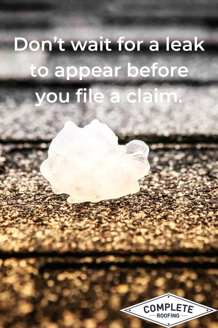 how long do you have to file an insurance claim for hail damage